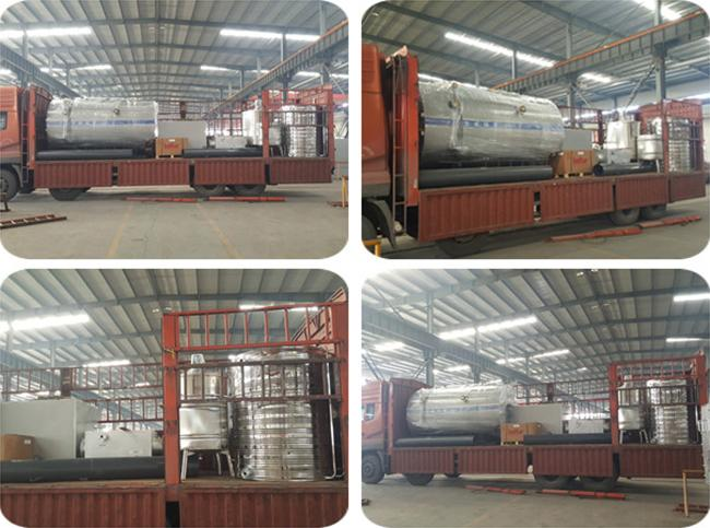 Output 0.5T Gas Fired Water Boiler 1.0MPa Working Pressure 2 Years ...