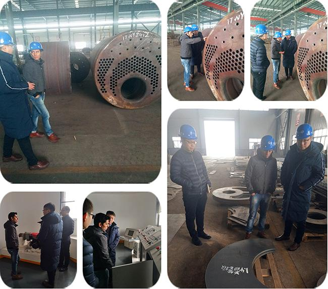 High Safety Natural Gas Boiler Furnace , Most Efficient Gas Boiler Enhanced Strength