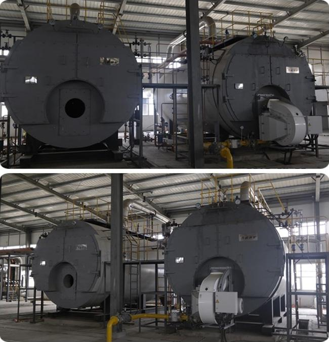 Fully Automatic Oil Fired Steam Boiler ON - OFF Computer Control Operation