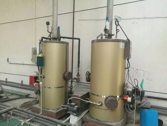Compact Structure Natural Gas Steam Boiler 0.4 - 0.7Mpa Working Pressure