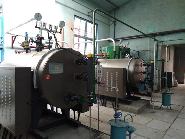 WDR Type Industrial Electric Steam Boiler Rapid Heating Production Noiseless Design