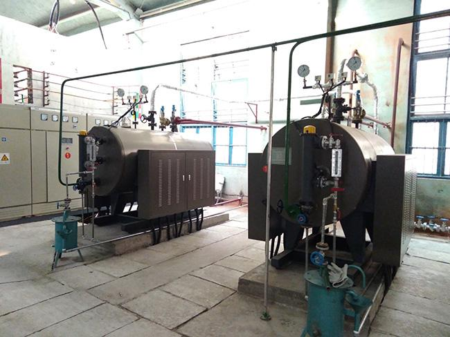 Fire Tube Electric Boiler System , Low Pressure Steam Generator 20℃ Feedwater Temp