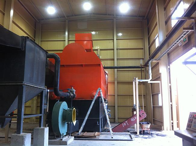 Low Pressure Coal Burning Boiler 80% Thermal Efficiency Automatic Operation Control