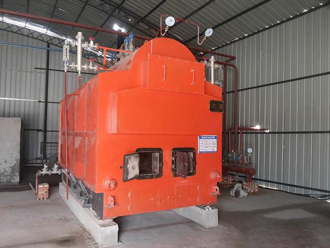 Low Pressure Biomass Steam Boiler 25mm Level Gauge With Adequate Supply Capacity