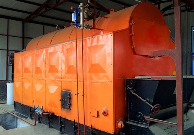 Industrial 8T Biomass Steam Boiler Fire Tube Structure For Dyeing And Washing