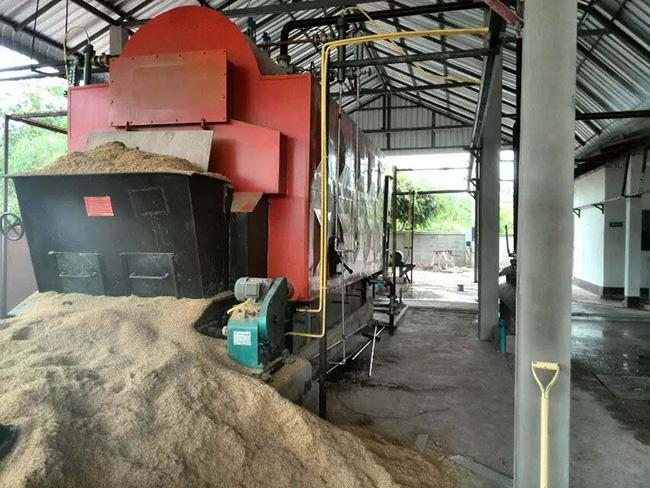 10 Tons Industrial Biomass Boiler Working Pressure 1.25Mpa Large Heating Surface