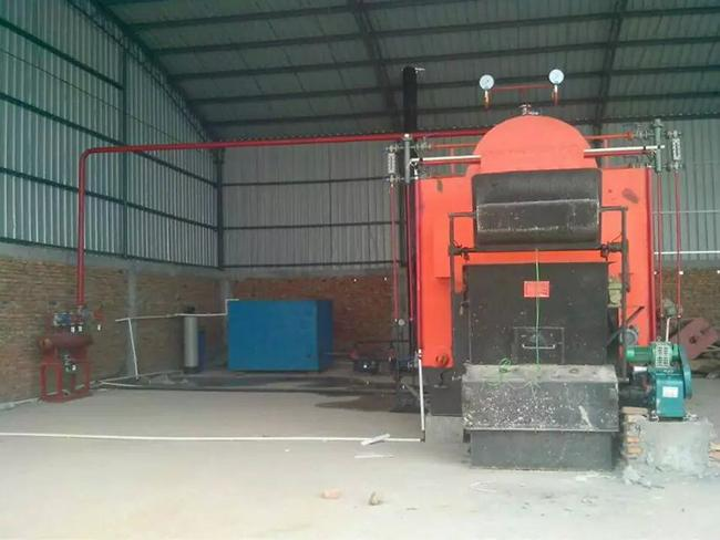 Fire Tube Biomass Steam Boiler Horizontal Style 1 - 10T/H Rated Steam Capacity