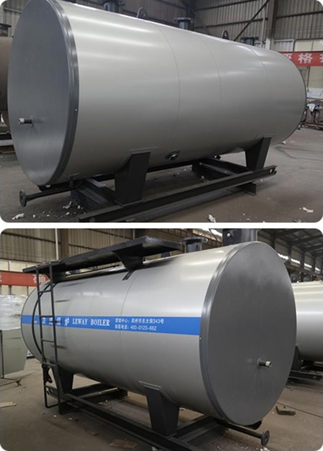 Automatic Operation Natural Gas Boilers , High Efficiency Gas Boiler Huge Water Volume