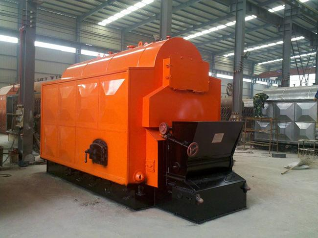 Industrial Chain Grate Coal Steam Boiler 1 - 10 Ton / H Rated Capacity