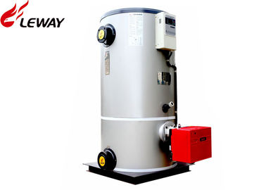 China Low Noise Hot Water Gas Boiler , High Efficiency Gas Boiler 0.06 - 0.7MW Rated Heat Capacity supplier