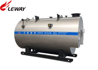 China Output 0.5T Gas Fired Water Boiler 1.0MPa Working Pressure 2 Years Warranty supplier