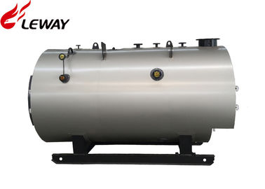 China Fire Tube 1T High Efficiency Gas Steam Boiler Low Pressure With Finned Tube Type Condenser supplier
