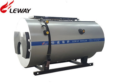 China Three Passes High Efficiency Gas Steam Boiler Large Diameter Corrugated Furnace supplier