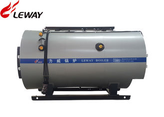 China Three Return 2T High Efficiency Gas Steam Boiler Fire Tube Structure supplier