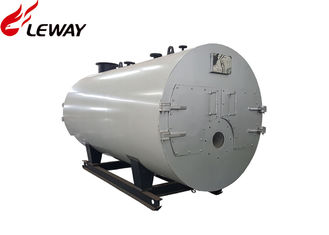 China 0.5 - 20 Tons Rated Natural Gas Fired Boiler , Gas Hot Water Furnace Fire Tube Structure supplier