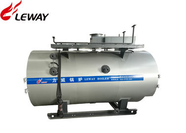 China Horizontal 1.5 Ton Steam Heat Boiler , Fuel Oil Fired Boilers PLC Automatic Control supplier