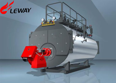 China Fuel Oil Fired Steam Boiler ON - OFF Computer Control Operation 20℃ Feedwater Temp supplier