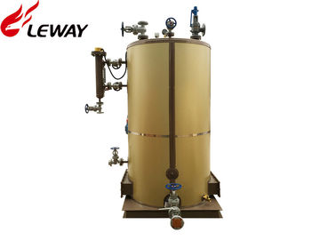 China Small Industrial Natural Gas Steam Boiler Natural Circulation Type Compact Design supplier