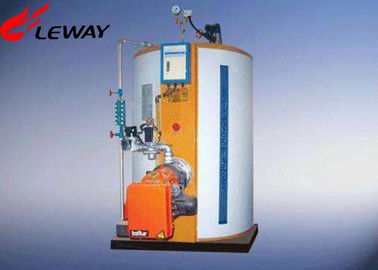 China Fully Automatic Natural Gas Steam Boiler With 219 / 300mm Smoke Crossing supplier