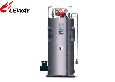 China Fully Automatic Vertical Steam Boiler Diesel / Heavy Oil Fuel Complete Combustion System supplier
