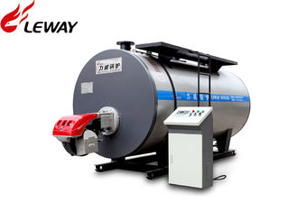 China Automatic Operation Natural Gas Boilers , High Efficiency Gas Boiler Huge Water Volume supplier