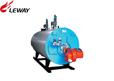 China Industrial Oil Hot Water Boiler Sufficient Heated Surface 0.35 -7.0MW Rated Heat Capacity supplier