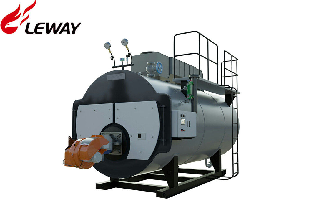 d45694ff9c 1.25MPa Oil Fired Steam Boiler Fire Tube Structure New Condition Full  Combustion