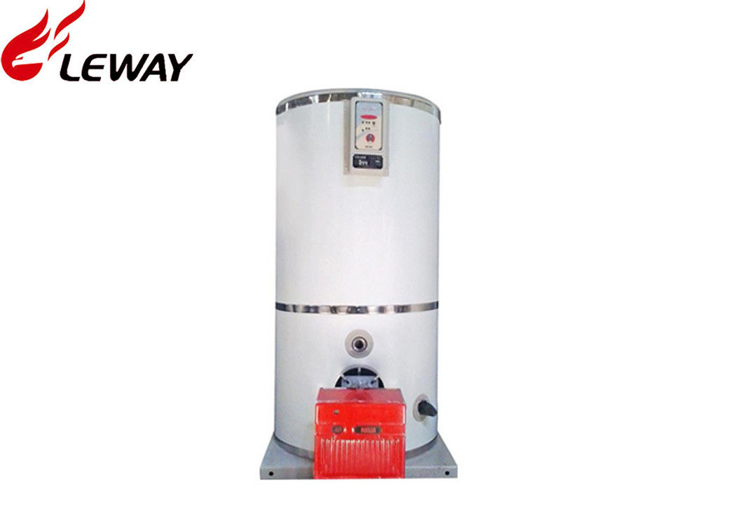 Diesel / City Gas Fired High Efficiency Hot Water Boiler Less Emissions