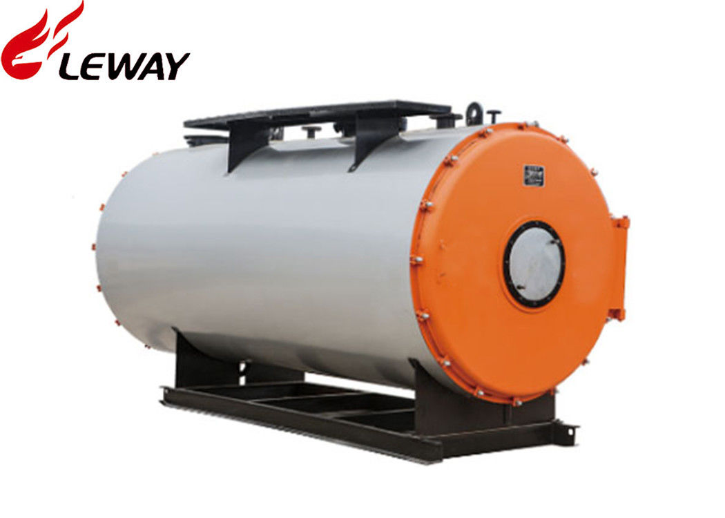 High Efficiency Oil Hot Water Furnace Large Water Volume For Weave ...