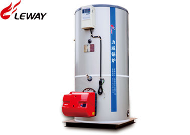 China 0.3 - 1 Ton Vertical Steam Boiler 20℃ Feed Water Temp Steam Out Fast distributor