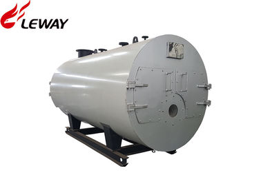 China 0.5 - 20 Tons Rated Natural Gas Fired Boiler , Gas Hot Water Furnace Fire Tube Structure distributor