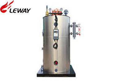 China Vertical Style Oil Boiler Furnace , Oil Fired System Boiler PLC Programmable Control factory