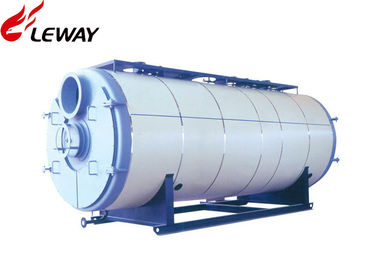 China 0.35MW Horizontal Gas Fired Boiler , Gas Hot Water Tank Sufficient Heated Surface factory