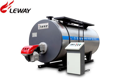 China Automatic Operation Natural Gas Boilers , High Efficiency Gas Boiler Huge Water Volume distributor