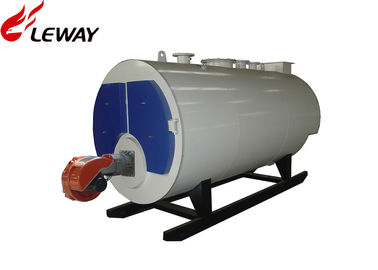China Fully Automatic Oil Hot Water Boiler Three Passes PLC Programmable Control factory