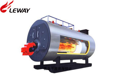China Horziontal Industrial Natural Gas Hot Water Boiler 0.35MW - 7MW Rated Power distributor