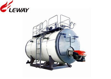 China High Efficiency Oil Fired Central Heating Boilers Fire Tube Structure 0.5 - 20T Capacity factory